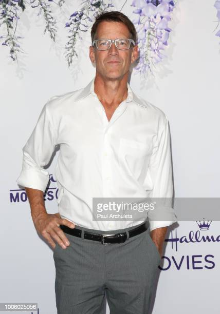 Actor James Denton attends the 2018 Hallmark Channel Summer TCA at Private Residence on July 26 2018 in Beverly Hills California