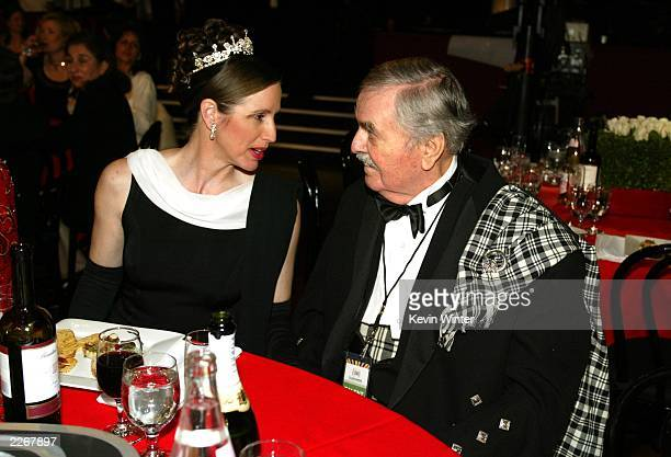 Actor James Doohan and his wife Wende attend the TV Land Awards 2003 at the Hollywood Palladium on March 2 2003 in Hollywood California
