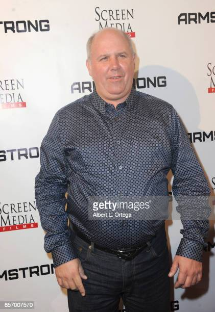 Actor James DuMont arrives for the Premiere Of Screen Media Films' 'Armstrong' held at Laemmle's Music Hall Theatre on October 2 2017 in Beverly...