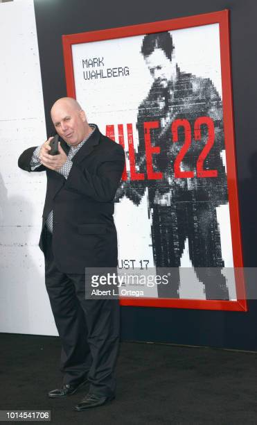 Actor James Dumont arrives for the Premiere Of STX Films' 'Mile 22' held at Westwood Village Theatre on August 9 2018 in Westwood California