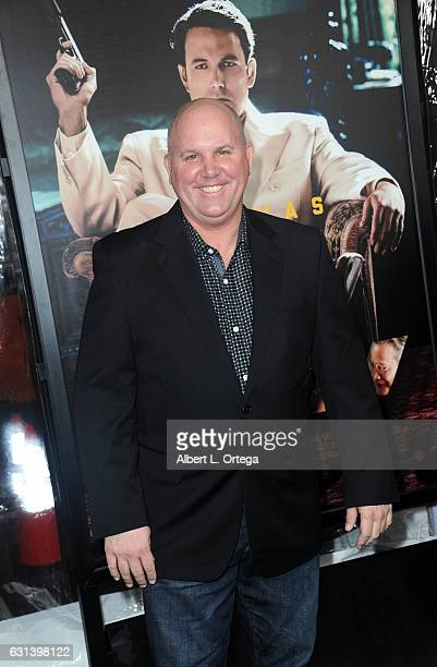 Actor James DuMont arrives for the Premiere Of Warner Bros Pictures' 'Live By Night' at TCL Chinese Theatre on January 9 2017 in Hollywood California