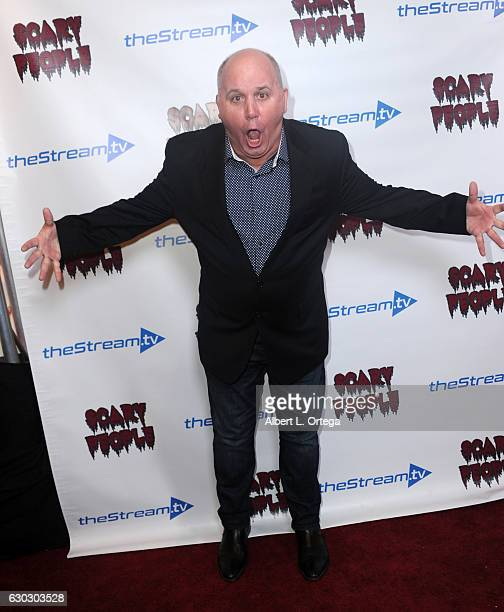 Actor James DuMont at the 'Scary People' Holiday Launch Party held at The Streamtv Studio on December 19 2016 in Los Angeles California