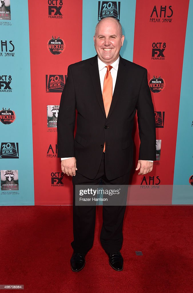 Actor James DuMont attends FX's 'American Horror Story: Freak Show' premiere screening at TCL Chinese Theatre on October 5, 2014 in Hollywood, California.