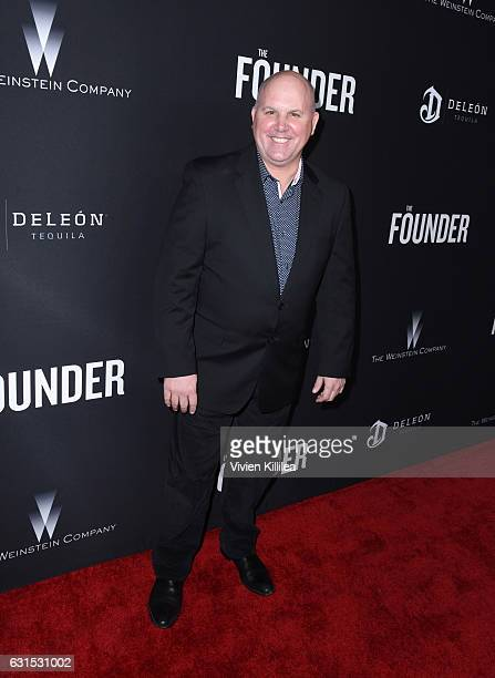 Actor James Dumont attends 'The Founder' US Premiere Presented By DeLeon Tequila on January 11 2017 in Los Angeles California
