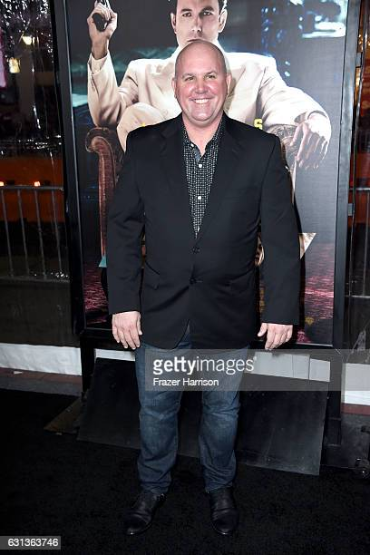 Actor James Dumont attends the premiere of Warner Bros Pictures' 'Live By Night' at TCL Chinese Theatre on January 9 2017 in Hollywood California