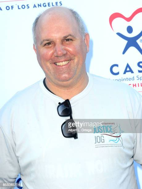 Actor James DuMont from NBC's 'Law Order True Crime The Menendez Murders' participates in the 10th Annual Justice Jog 5/10K Run Walk Hosted By GLAALA...