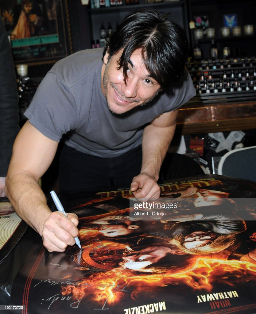 Actor James Duval participates in the Blu-ray And DVD Release Party For Magnolia Home Entertainment's 'Sushi Girl' held at Dark Delicacies Bookstore on February 19, 2013 in Burbank, California.