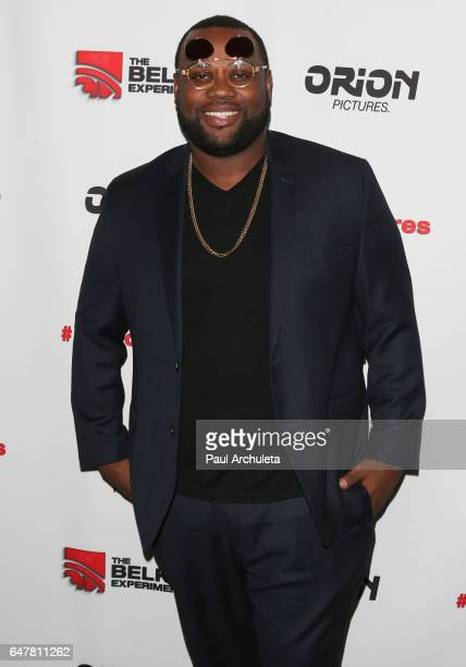 Actor James Earl attends the screening of The Belko Experiment at Aero Theatre on March 3 2017 in Santa Monica California