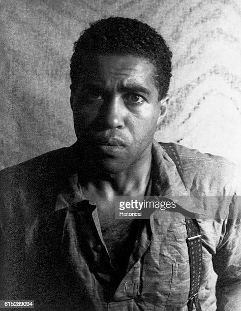 Actor James Earl Jones as he appeared in the stage play Do You Want to be Free