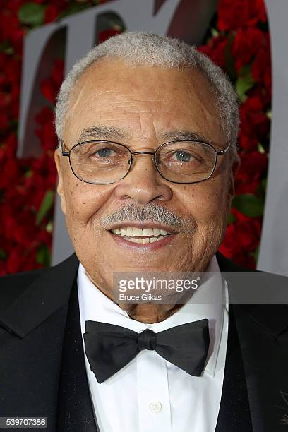 Actor James Earl Jones attends 70th Annual Tony Awards Arrivals at Beacon Theatre on June 12 2016 in New York City