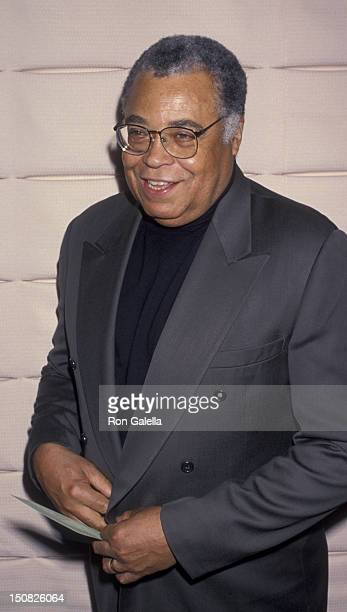 Actor James Earl Jones attends Pacific Pioneer Broadcasters Luncheon Honoring Diahann Carroll on May 20, 1994 at the Sportman's Lodge in Studio City,...