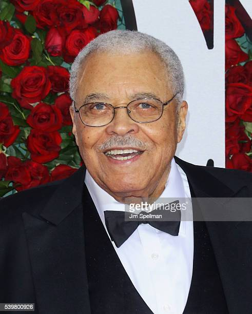 Actor James Earl Jones attends the 70th Annual Tony Awards at Beacon Theatre on June 12 2016 in New York City