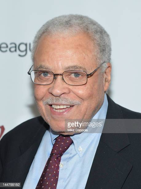Actor James Earl Jones attends the 78th annual Drama League Awards Ceremony and Luncheon at the Marriott Marquis Times Square on May 18 2012 in New...