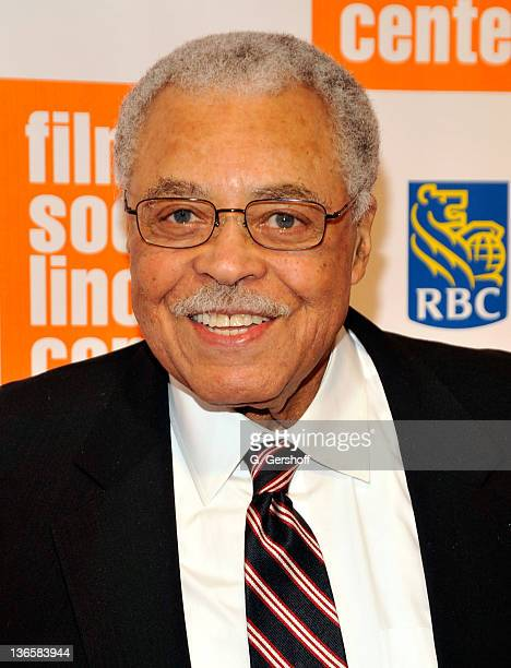 Actor James Earl Jones attends The Film Society of Lincoln Center's presentation of the 38th Annual Chaplin Award at Alice Tully Hall on May 2 2011...