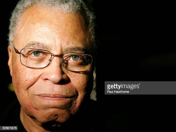 Actor James Earl Jones attends the opening night of On Golden Pond after party at Blue Fin April 7 2005 in New York City