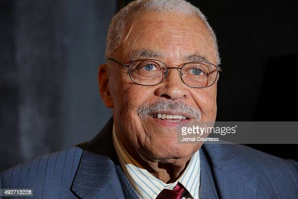 Actor James Earl Jones attends the The Gin Game Broadway opening night after party at Sardi's on October 14 2015 in New York City