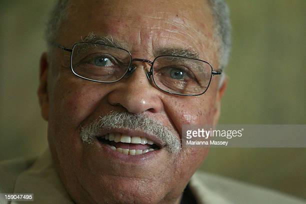 Actor James Earl Jones poses for a photo during a Driving Miss Daisy photo call on on January 7 2013 in Sydney Australia