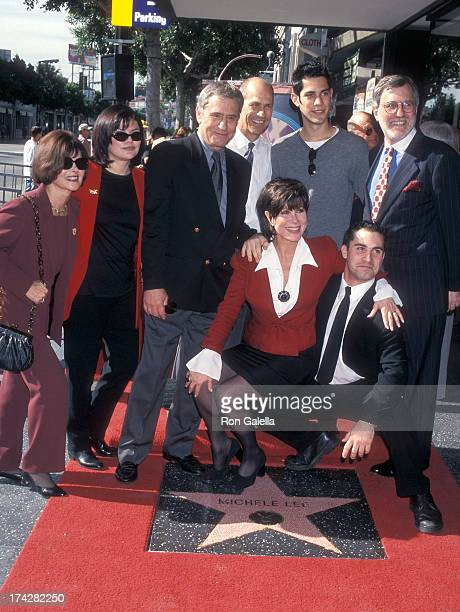 Actor James Farentino son David actress Michele Lee and husband Fred A Rappoport attend Michele Lee Receives a Star on the Hollywood Walk of Fame on...
