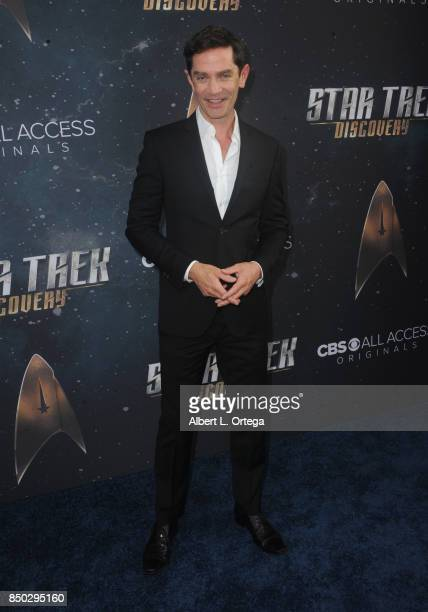 Actor James Frain arrives for the Premiere Of CBS's 'Star Trek Discovery' held at The Cinerama Dome on September 19 2017 in Los Angeles California