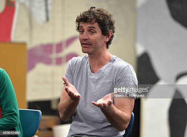 Actor James Frain attends a BAFTA LA Master Class at Washington Prep High School on December 4 2013 in Los Angeles California