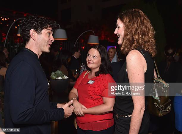 Actor James Frain Creative England's Kaye Elliott and Creative England's Emma Chappel attend a British Film Commission UK Film TV Week industry...