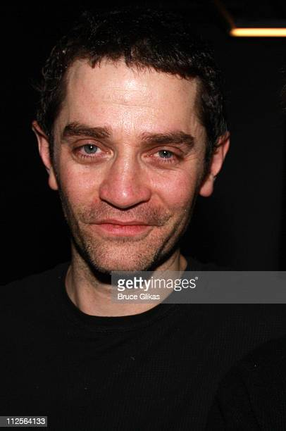 Actor James Frain poses at The Homecoming on Broadway's Broadway Cares/Equity Fights AIDS Benefit on November 25 2007 at New World Stages Theater in...
