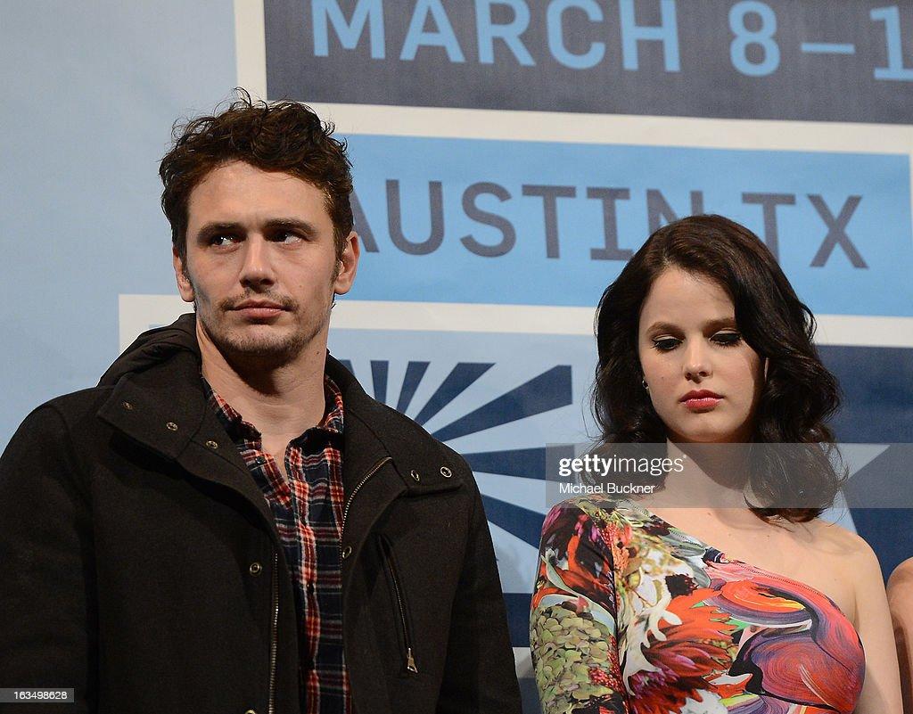 """Spring Breakers"" Q&A - 2013 SXSW Music, Film + Interactive Festival : News Photo"