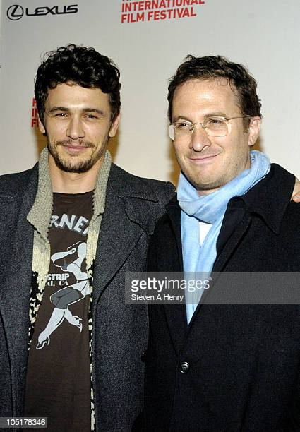 Actor James Franco and director Darren Aronofsky attend the Black Swan Premiere during the 18th Annual Hamptons International Film Festival at United...