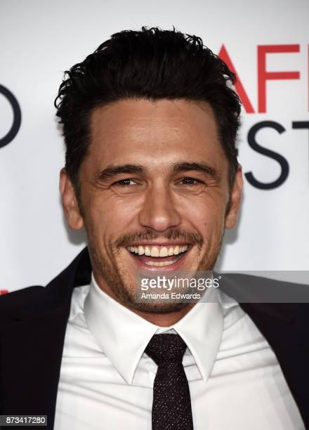 Actor James Franco arrives at the AFI FEST 2017 Presented By Audi screening of 'The Disaster Artist' at the TCL Chinese Theatre on November 12 2017...