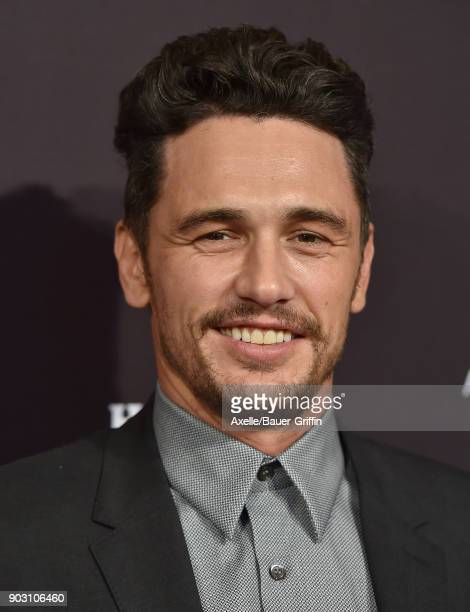 Actor James Franco arrives at The BAFTA Los Angeles Tea Party at Four Seasons Hotel Los Angeles at Beverly Hills on January 6 2018 in Los Angeles...