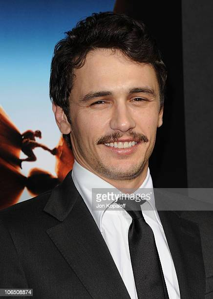Actor James Franco arrives at the Los Angeles Premiere 127 Hours at AMPAS Samuel Goldwyn Theater on November 3 2010 in Beverly Hills California