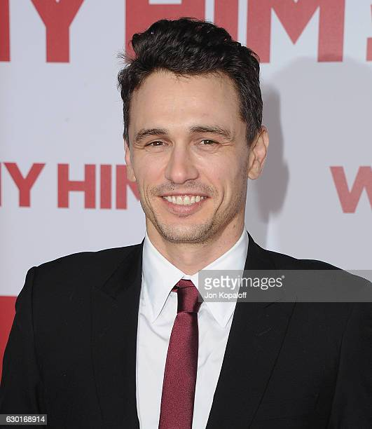 Actor James Franco arrives at the Los Angeles Premiere Why Him at Regency Bruin Theater on December 17 2016 in Westwood California