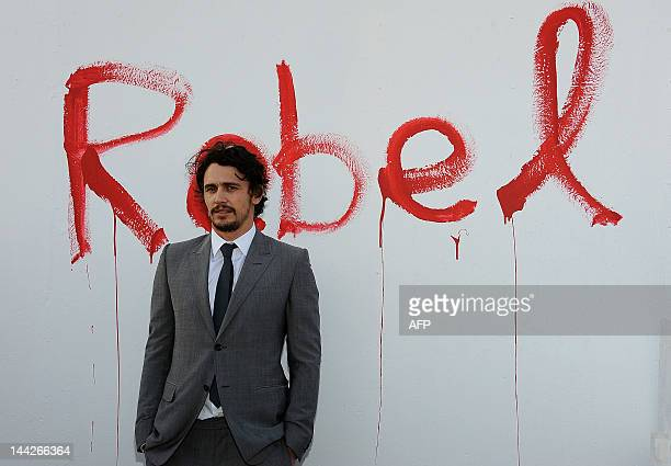 """Actor James Franco arrives at the Museum of Contemporary Art Los Angeles Presents """"Rebel"""" by James Franco in Los Angeles, California, on May 12,..."""