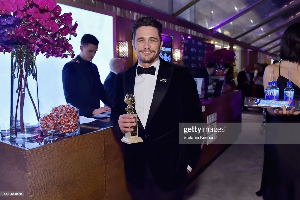 Actor James Franco attends FIJI Water at HFPA's Official Viewing and After-Party at the Wilshire Garden inside The Beverly Hilton on January 7, 2018 in Beverly Hills, California.