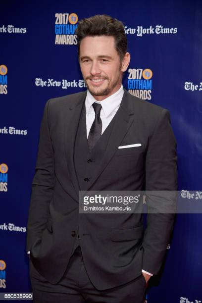 Actor James Franco attends IFP's 27th Annual Gotham Independent Film Awards on November 27 2017 in New York City