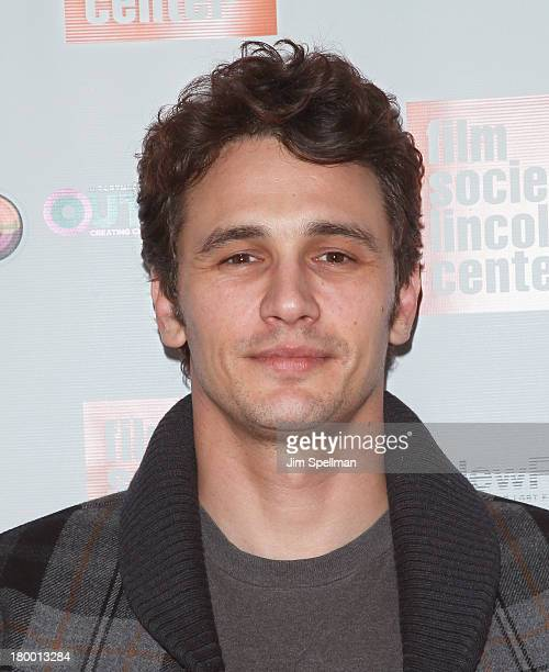 Actor James Franco attends NewFest 2013 Screening Of 'Interior Leather Bar' at The Film Society of Lincoln Center Walter Reade Theatre on September 7...