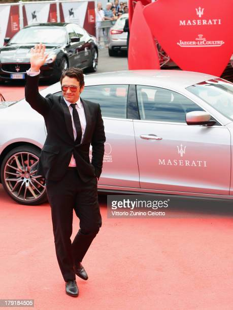 Actor James Franco attends 'Palo Alto' Premiere during the 70th Venice International Film Festival at Sala Grande on September 1 2013 in Venice Italy
