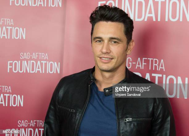 Actor James Franco attends SAGAFTRA Foundation Conversations Career Retrospective with James Franco at SAGAFTRA Foundation Screening Room on November...