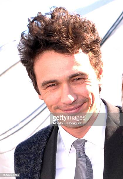 Actor James Franco attends the 2011 Film Independent Spirit Awards at Santa Monica Beach on February 26 2011 in Santa Monica California
