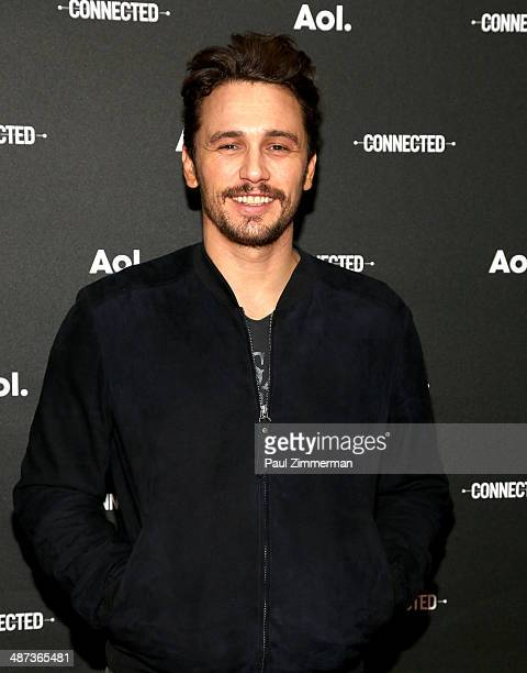 Actor James Franco attends the 2014 AOL NewFront at the Duggal Greenhouse on April 29, 2014 in the Brooklyn borough of New York City.