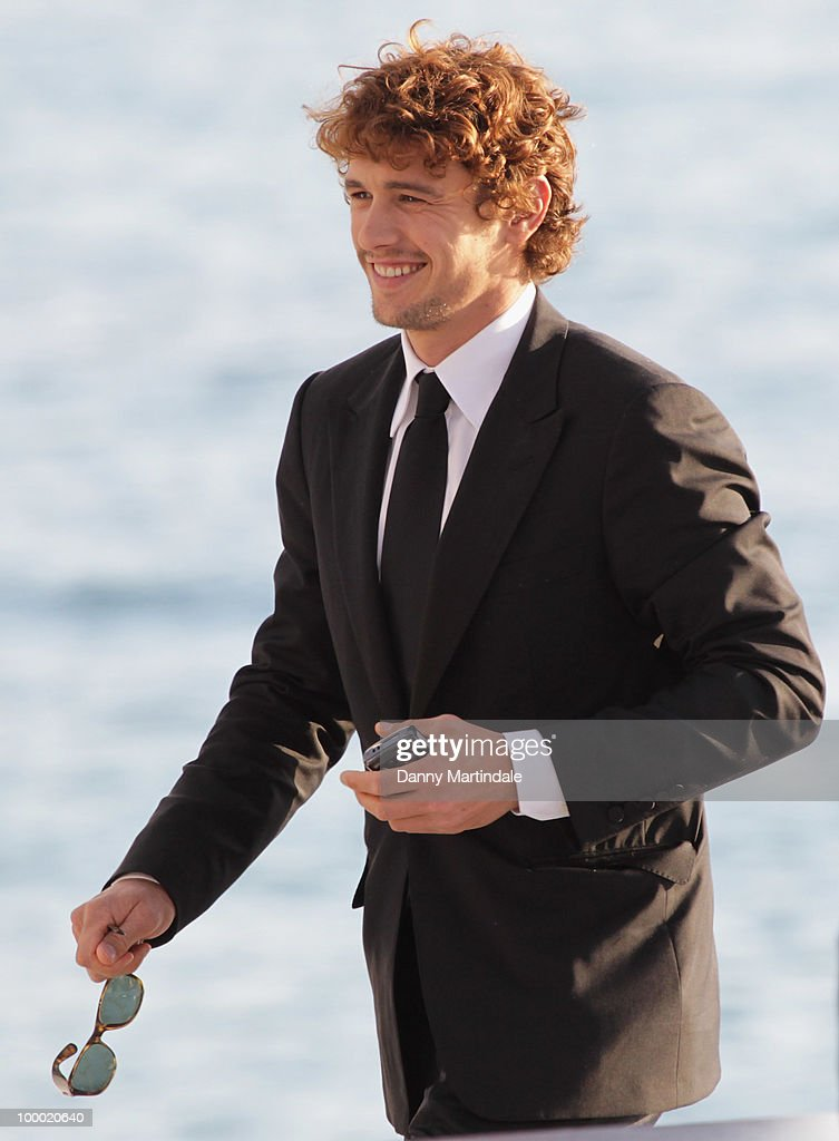 Actor James Franco attends the 63rd Cannes Film Festival on May 20, 2010 in Cannes, France.