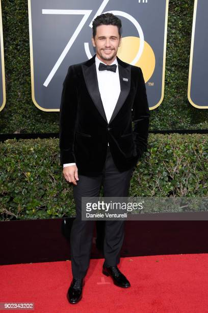 Actor James Franco attends The 75th Annual Golden Globe Awards at The Beverly Hilton Hotel on January 7 2018 in Beverly Hills California