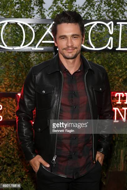 Actor James Franco attends the Coach and Friends of the High Line Summer Party at High Line on June 6 2017 in New York City