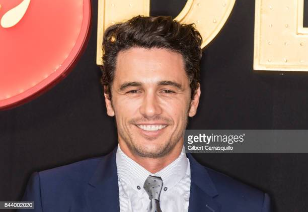 Actor James Franco attends 'The Deuce' New York premiere at SVA Theater on September 7 2017 in New York City