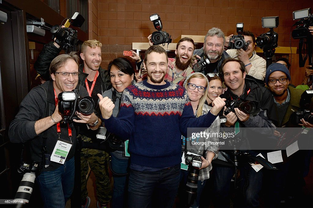Actor James Franco attends the 'I Am Michael' Premiere during the 2015 Sundance Film Festival on January 29, 2015 in Park City, Utah.
