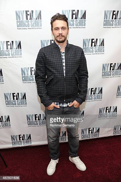 Actor James Franco attends the New York Film Critics Series screening of Child Of God at AMC Empire 25 theater on July 21 2014 in New York City