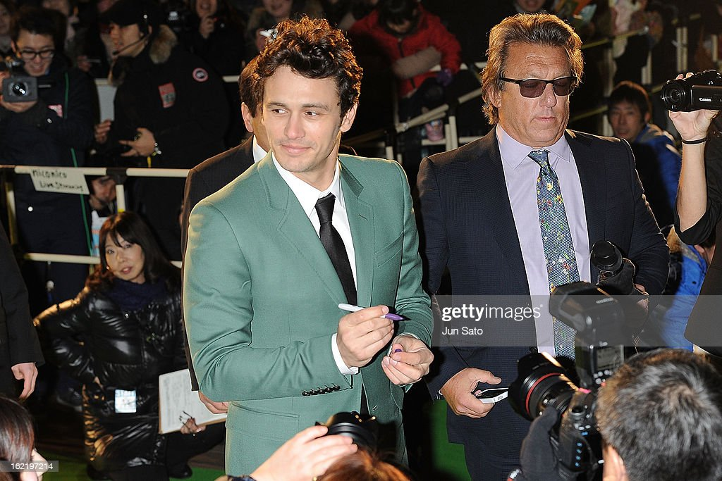 Actor James Franco attends the 'Oz: the Great and Powerful' Japan Premiere at Roppongi Hills on February 20, 2013 in Tokyo, Japan.