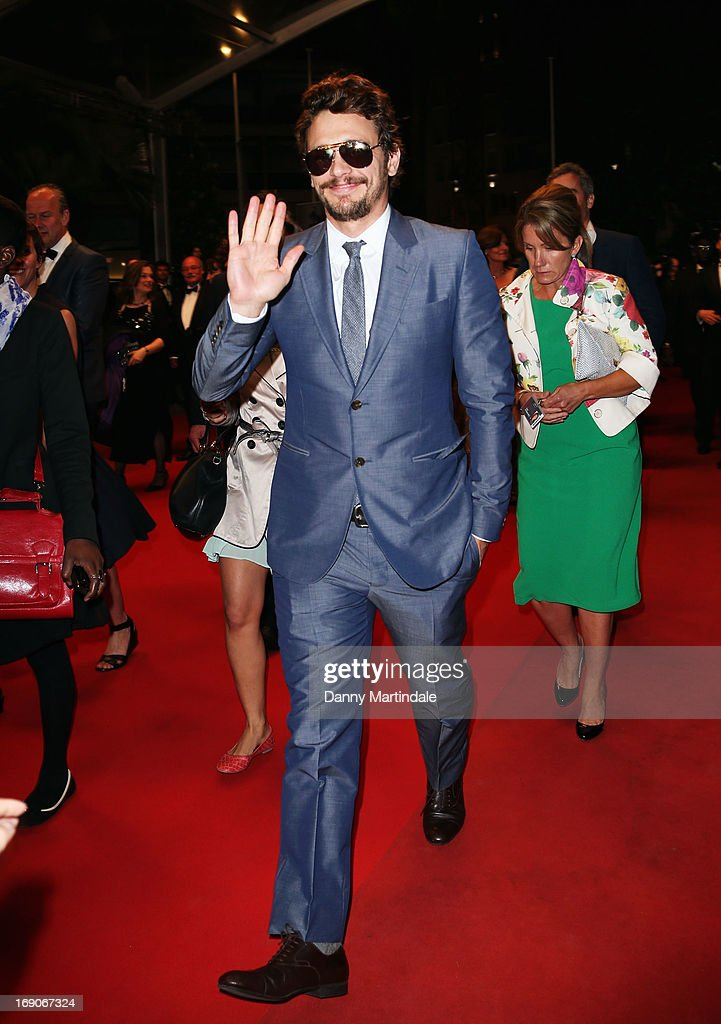 Actor James Franco attends the Premiere of 'Borgman' during The 66th Annual Cannes Film Festival at Palais des Festivals on May 19, 2013 in Cannes, France.