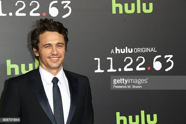 Actor James Franco attends the Premiere of Hulu's '112263' at the Regency Bruin Theatre on February 11 2016 in Los Angeles California