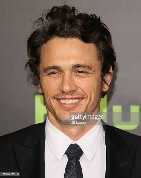 Actor James Franco attends the premiere of Hulu's '112263' on February 11 2016 in Westwood California